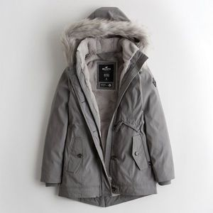 Brand new with tags fur lined jacket